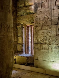Abydos temple was dedicated to King Seti I     Father of King Ramses II