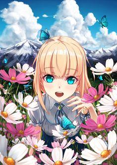 images like anime girls Pretty Anime Girl, Beautiful Anime Girl, I Love Anime, Awesome Anime, Manga Girl, Manga Anime, Anime Style, Full Hd Wallpapers, Otaku