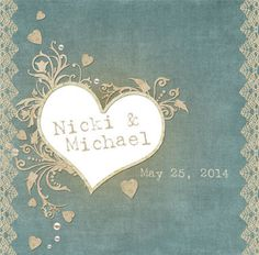 Antiqued Custom Label for Wedding Welcome by 4WeddingWelcomeBags, $0.70