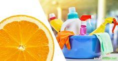 Mit einfachsten Hausmitteln kannst du diesen Reiniger für Küche und Bad herstellen. Das Kraftpaket gegen Schmutz und Kalkablagerungen!