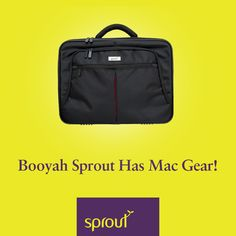 Sprout accessories now include Mac gear laptop bags along with mobile phone cases, tablet cases and accessories for devices. #mac #sprout #mobile #phone #cases #tablet  #screen #protectors #Bluetooth #kits #Audio  #accessories #chargers
