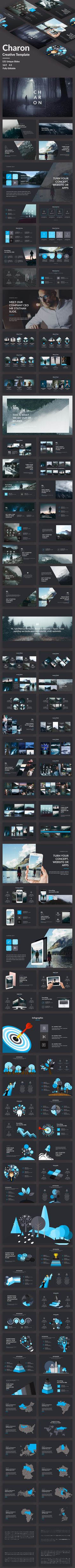 Charon Creative Powerpoint Template — Powerpoint PPT #1280x720 #animation • Download ➝ https://graphicriver.net/item/charon-creative-powerpoint-template/20501978?ref=pxcr