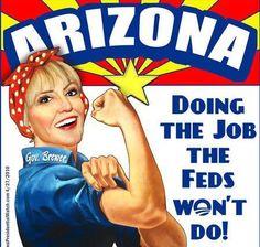 Go Jan Brewer! Take what you can get, you're making Arizonans proud.