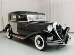 1936 Brewster Ford Town Car. (*Every good mystery has to have a classy automobile!)