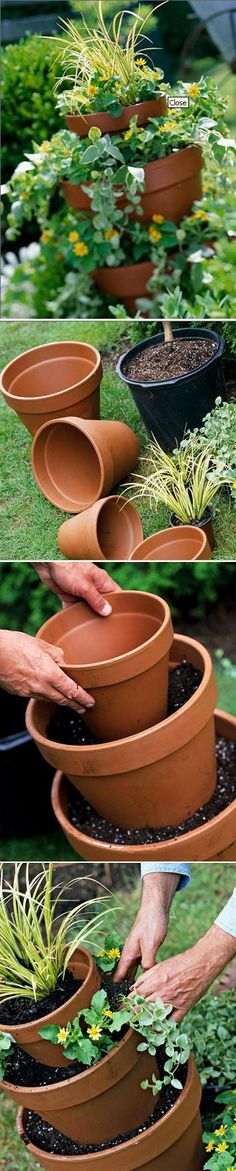 How To Make a Tall Planter