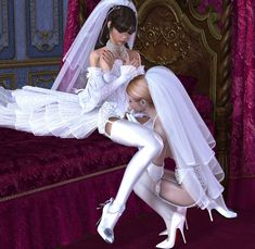 Sissy Brides! - Seduced and Sissified!