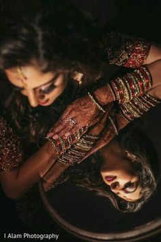 Here are 7 Creative Wedding Photography Shots for your big day that you need to see! Mehendi Photography, Indian Wedding Couple Photography, Creative Wedding Photography, Couple Photography Poses, Girl Photography Poses, Indian Photography, Poses Pour Photoshoot, Pre Wedding Photoshoot, Indian Photoshoot