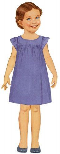 Rosamée : Robe à manches volantées, froncée sous les empiècements devant et dos, de Citronille