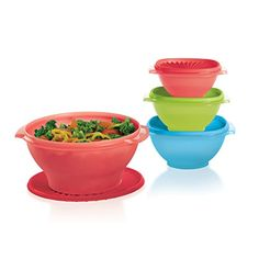SERVALIER® BOWLS 4-PC. SET was $69.00 now only  $45.00!  Shop the sale to get that great deal, open party link is http://www.tupperware.com/?party=55a2cee662de80057e9c2cea