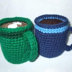 Coffee Mug amigurumi crochet pattern