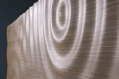 Plywood CNC'd water wave