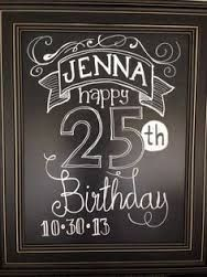 Image result for Happy 80th birthday chalkboard design