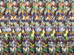 Lot of 7 Stereogram Posters Hidden illusion, Ganesha 3d Hidden Pictures, Hidden 3d Images, Magic Eye Pictures, Hidden Art, 3d Pictures, Amazing Optical Illusions, 3d Optical Illusions, Magic Eye Posters, 3d Stereograms