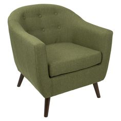 The Rockwell Accent Chair Olive brings your room to life. Visit your local At Home store to purchase and find more affordable Occasional Chairs & Recliners. Accent Chairs For Living Room, Formal Living Rooms, Green Accent Chair, Most Comfortable Office Chair, Occasional Chairs, At Home Store, Chair Cushions, Swivel Chair, Modern Chairs