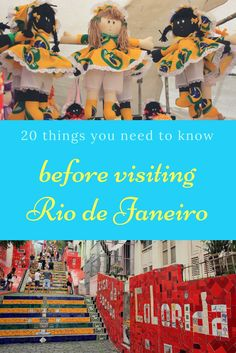 """20 things every traveler you should know before landing at the """"Cidade Maravilhosa"""", as Rio de Janeiro in Brazil is also known"""
