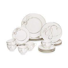 Mikasa® Love Story 20-Piece Dinnerware Set. Bed, Bath, and Beyond. $150