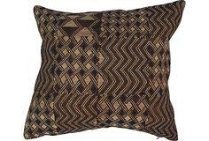 African Patchwork Tribal Pillow on OneKingsLane.com