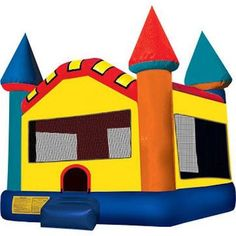 Pink Dream Castle 2 Commercial Bounce House