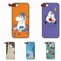 4ee910d8219 For Microsoft Nokia Lumia 540 550 640 950 X2 XL For HTC One M10 Muumi  Moomin card Valley TPU Phone Case Cover