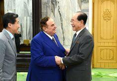 김영남위원장이 이딸리아종합투자그룹 리사장을 만났다