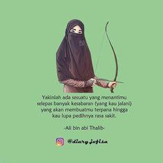 Muslim Quotes, Arabic Quotes, Islamic Quotes, Cute Quotes, Best Quotes, Ali Bin Abi Thalib, Islamic Cartoon, Islam Women, Anime Muslim