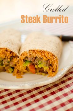 Recipe: Grilled Steak Burrito
