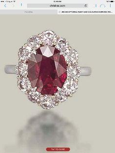 Ruby N Pink Diamond ring. Yummy!
