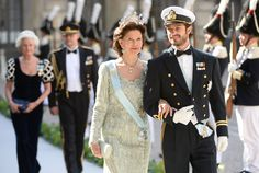 The Queen and Prince Carl Philip. On Saturday 8 June 2013, Princess Madeleine and Mr. Christopher O'Neill were married in the Royal Chapel at the Royal Palace of Stockholm.