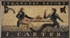 Tavern Sign-CT Historical Society