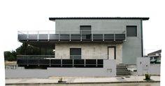 #Edificios #Moderno #Exterior #Terraza #Puertas #Fachada #Barandillas #Ventanas