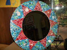 Sun mosaic mirror Mirrors, Sun, Crafty, Home Decor, Style, Mosaic, Homemade Home Decor, Mirror, Decoration Home