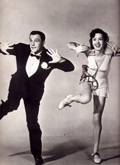 Gene Kelly & Debbie Renyolds from Singing in the Rain. Love :)