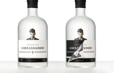 the dieline white and black bottle - Google Search