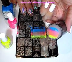 15 Best Lina Nail Art Supplies Stamping Plates Images On Pinterest