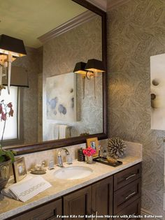Bathroom Mirrors San Diego framed bathroom mirrors san diego | tablecloth | pinterest | san