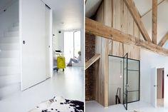 Open trap in woonkamer weggewerkt incl. trapkast huis in 2018