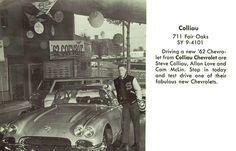 Colliau Chevrolet - 1962 Corvette