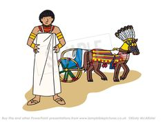 Joseph as second in command of Egypt
