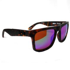 Spy Happy Lens The Fold Sunglasses (Matte Camo Tort/Bronze Green Spectra Lens) $124.95