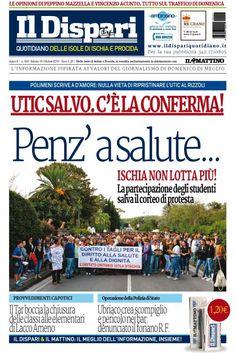 La copertina del 15 ottobre 2016  #ischia  #ildispari