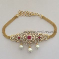 Jewellery Designs: 2 in1 Affordable Diamond Chokers