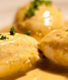 Recette Quenelles de volaille au foie gras chef video