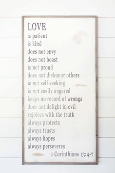 Love is Patient Sign | The Magnolia Market