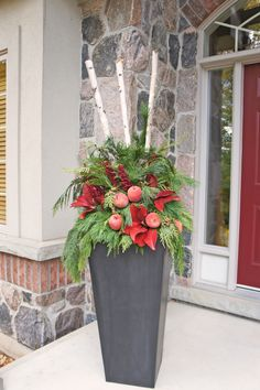 Best Ideas about Outdoor Christmas Planters on . Outside Christmas Decorations Outside Christmas Decorations Best Ideas about Outdoor Christmas Planters on . Outside Christmas Decorations Outside Christmas Decorations Outside Xmas Decorations, Christmas Door Decorations, Christmas Arrangements, Christmas Centerpieces, Christmas Window Boxes, Christmas Urns, Christmas Ideas, Outdoor Christmas Planters, Outdoor Planters