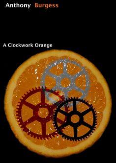 A Clockwork Orange book cover design developed