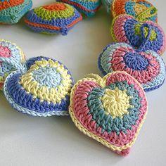 Ravelry: Stuffed Heart pattern by Leonie Morgan