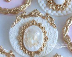 Conjunto de toppers cupcake vintage de Novia de la boda. 12