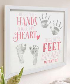 Tiny Ideas Hands & Feet Frame | zulily