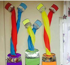 Legendary Instances Of Motivational Classroom Design for preschool. Classroom Decor Ideas to Help you Have the Best Class on the Tightest // education classroom decor // classroom decoration ideas preschool Art Classroom Decor, Diy Classroom Decorations, Classroom Design, Classroom Ideas, Kindergarten Classroom, Arte Elemental, Montessori Materials, Art Party, Preschool Art