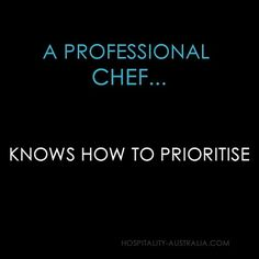 Hospitality australia: a professional chef knows...